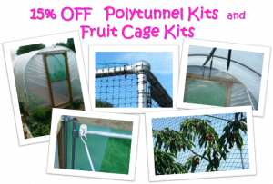 Polytunnel and Fruit Cage Kits - 15% off