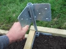 Image Result For Raised Garden Bed Metal Corners